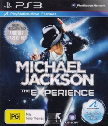 Michael Jackson: The Experience PS3 coverM (BLES01135)