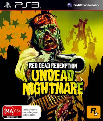 Red Dead Redemption: Undead Nightmare PS3 coverM (BLES01179)