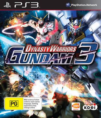 Dynasty Warriors: Gundam 3 PS3 coverM (BLES01301)