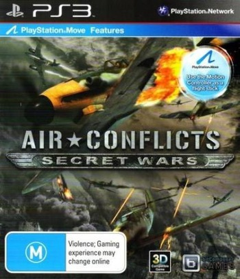 Air Conflicts: Secret Wars PS3 coverM (BLES01316)