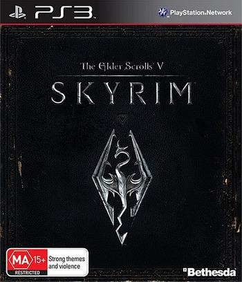 The Elder Scrolls V: Skyrim PS3 coverM (BLES01330)