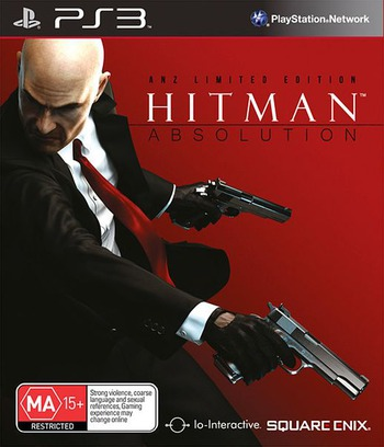Hitman Absolution PS3 coverM (BLES01403)