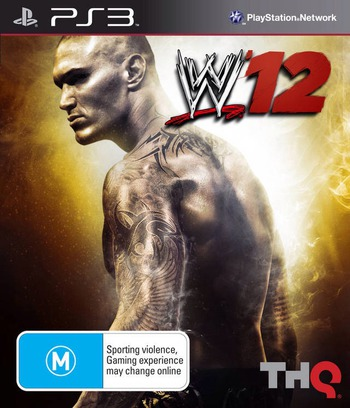 WWE 12 PS3 coverM (BLES01439)