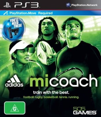 Adidas miCoach PS3 coverM (BLES01529)