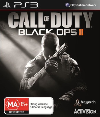 Call of Duty: Black Ops II PS3 coverM (BLES01718)