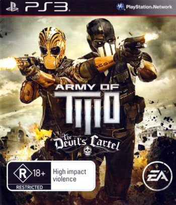 Army of Two: The Devil's Cartel PS3 coverM (BLES01763)