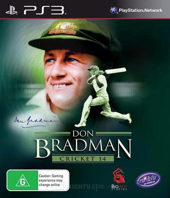 Don Bradman Cricket 14 PS3 coverM (BLES01859)