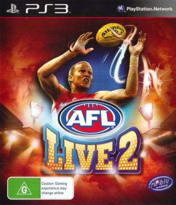 AFL Live 2 PS3 coverM (BLES01875)