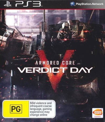 Armored Core: Verdict Day PS3 coverM (BLES01898)