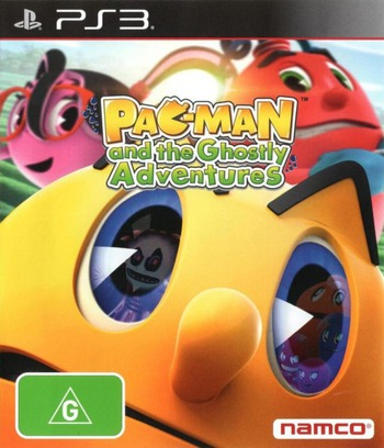 Pac-Man and the Ghostly Adventures PS3 coverM (BLES01901)