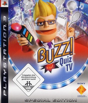 Buzz!: Quiz TV (Special Edition) PS3 coverM (BCES00303)