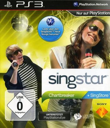 SingStar: Chartbreaker PS3 coverM (BCES00640)