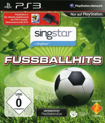 SingStar: Fussball Hits PS3 coverM (BCES00869)