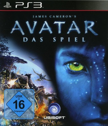 Avatar: Das Spiel PS3 coverM (BLES00667)