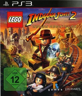 LEGO Indiana Jones 2: Die Neuen Abenteuer PS3 coverM (BLES00763)