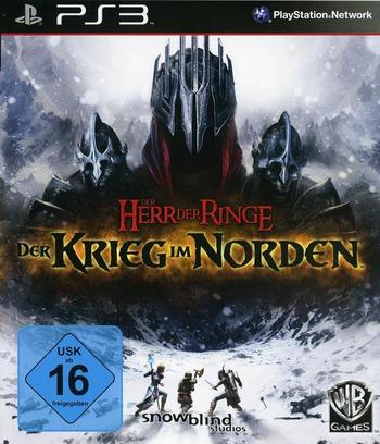 Der Herr der Ringe: der Krieg im Norden PS3 coverM (BLES01181)