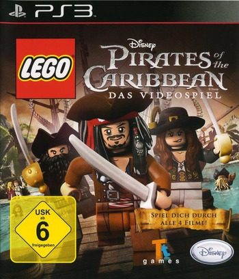 Pirates of the Caribbean: Das Videospiel PS3 coverM (BLES01239)