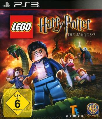 LEGO Harry Potter: Die Jahre 5-7 PS3 coverM (BLES01348)