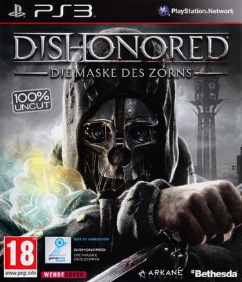 Dishonored: Die Maske des Zorns PS3 coverM (BLES01675)
