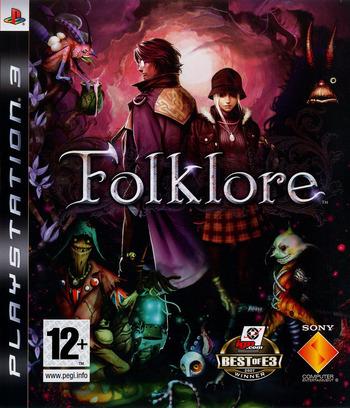 Folklore PS3 coverM (BCES00050)