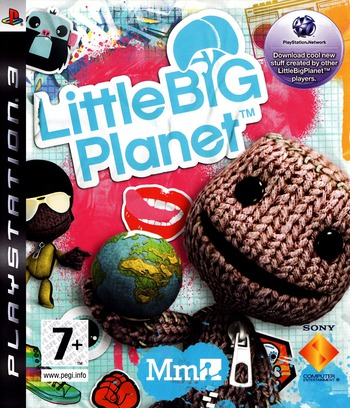 LittleBigPlanet PS3 coverM (BCES00141)