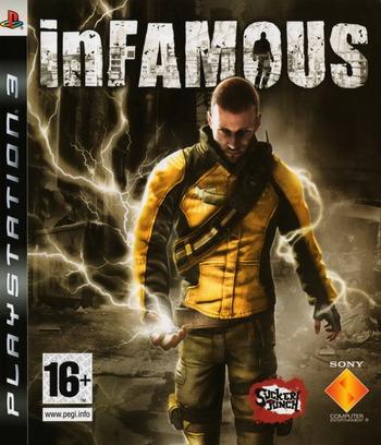 inFamous PS3 coverM (BCES00220)