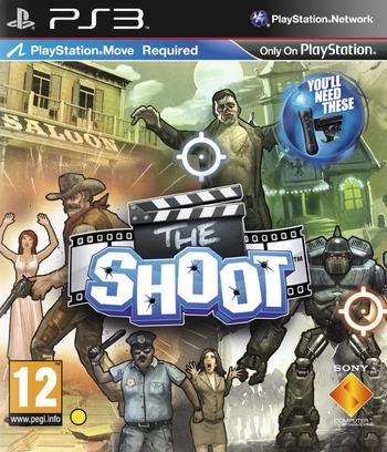 The Shoot PS3 coverM (BCES00463)