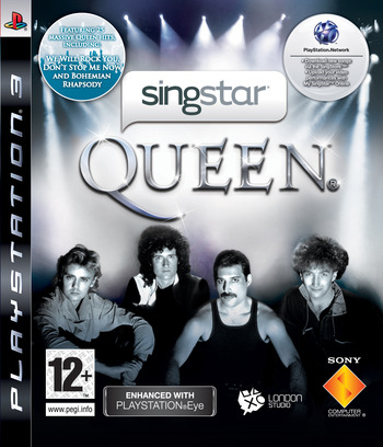 SingStar: Queen PS3 coverM (BCES00494)