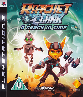 Ratchet & Clank: A Crack in Time PS3 coverM (BCES00511)