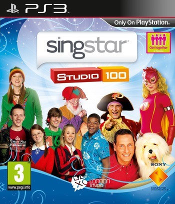 SingStar Studio 100 PS3 coverM (BCES00520)