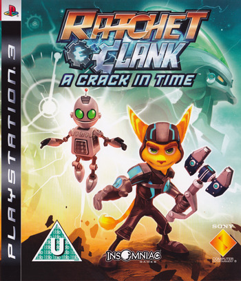 Ratchet & Clank: A Crack in Time PS3 coverM (BCES00726)