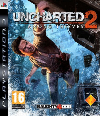 Uncharted 2: Among Thieves PS3 coverM (BCES00757)