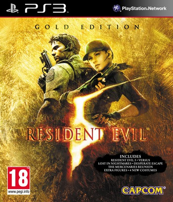 Resident Evil 5: Gold Edition PS3 coverM (BCES00816)