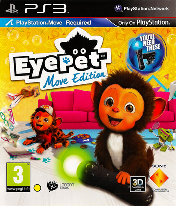 EyePet Move Edition PS3 coverM (BCES00864)