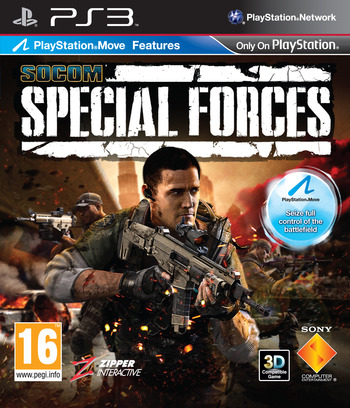 SOCOM: Special Forces PS3 coverM (BCES00938)