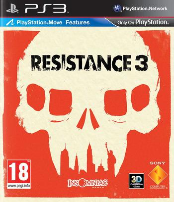 Resistance 3 PS3 coverM (BCES01118)