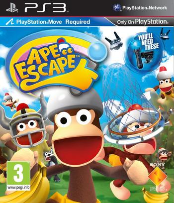 Ape Escape PS3 coverM (BCES01186)