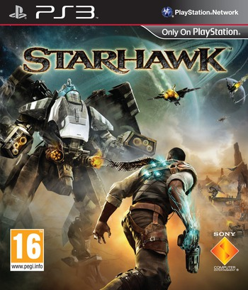 StarHawk PS3 coverM (BCES01234)