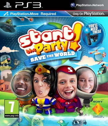 Start The Party! Save the World PS3 coverM (BCES01273)