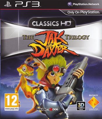 Jak & Daxter The Trilogy PS3 coverM (BCES01325)