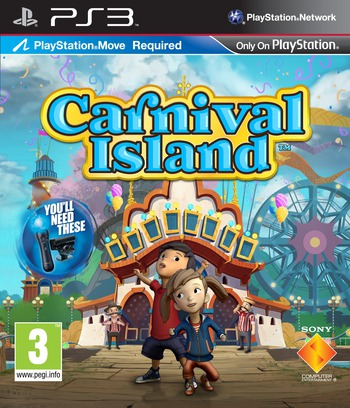 Carnival Island PS3 coverM (BCES01369)