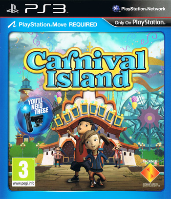 Carnival Island PS3 coverM (BCES01370)