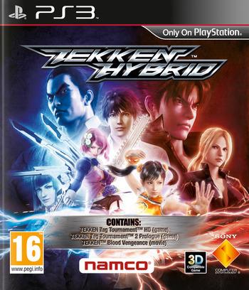 Tekken Hybrid PS3 coverM (BCES01454)