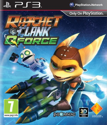 Ratchet & Clank: QForce PS3 coverM (BCES01594)