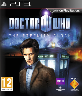 Doctor Who: The Eternity Clock PS3 coverM (BCES01645)