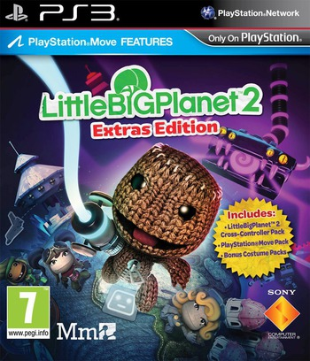 LittleBigPlanet 2 (Extras Edition) PS3 coverM (BCES01694)