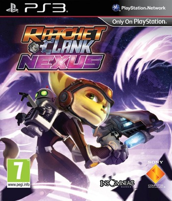 Ratchet & Clank: Into the Nexus PS3 coverM (BCES01949)
