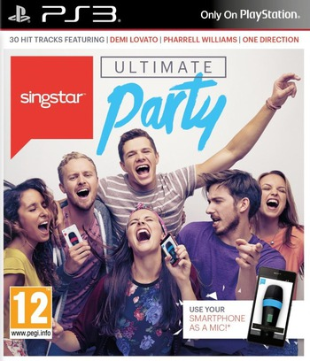 SingStar Ultimate Party PS3 coverM (BCES02043)