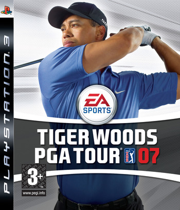 Tiger Woods PGA Tour 2007 PS3 coverM (BLES00012)