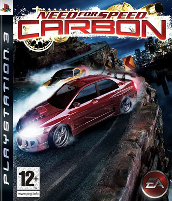 Need for Speed: Carbon PS3 coverM (BLES00020)